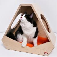 Домик для кошек «Приют астронавта» -домашнее чудо)