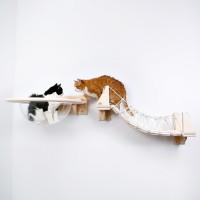 """Новинка -- настенный комплекс для кошек --  """"Стратосфера"""""""