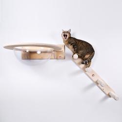 Настенный игровой комплекс для кошек «Юрикато»