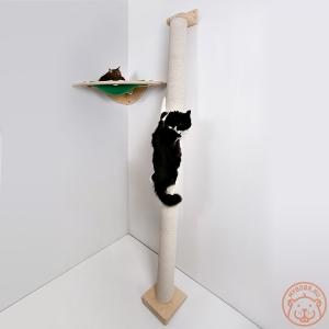 Настенный игровой комплекс для кошек «Вершина мира»