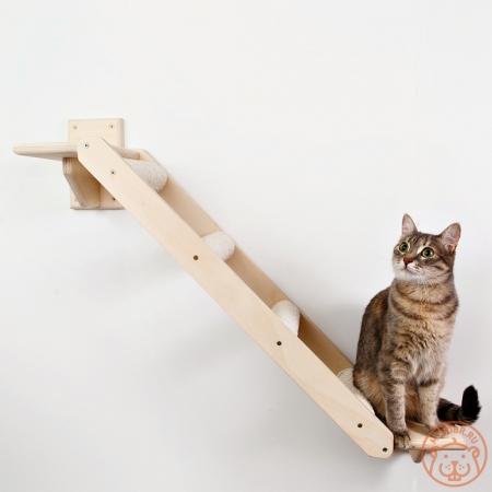 Очень прочная и удобная настенная лесенка для кошки «Путь к совершенству»