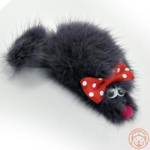 Игрушка норковая для кошки «Мышь норка М»