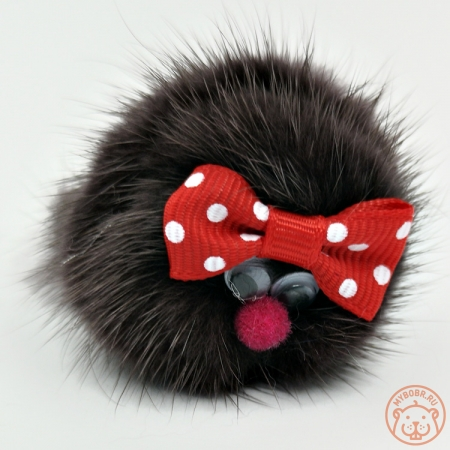 игрушка для кошки удочка с мехом норки