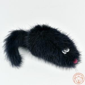Игрушка для кошки «Мышка норка М» 5 см