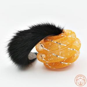 Игрушка для кошек «Шарик из норки» звенящий