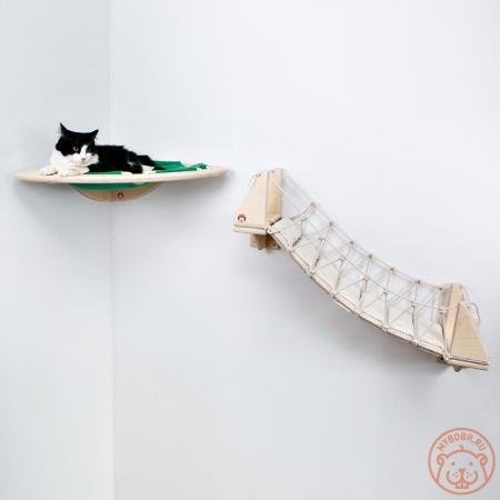 Настенный игровой комплекс для кошек «Дорога созерцания»