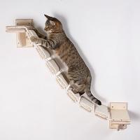 """Мостик-лесенка с когтеточкой для кошки """"Путь ниндзя"""""""