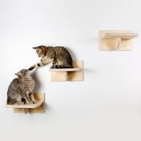 """Комплект полочек-ступенек для кошек """"Фитнес каждый день"""""""