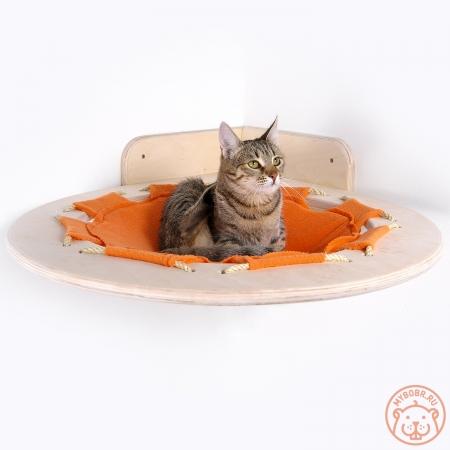 """Большой и надежный настенный гамак для кошки """"Взгляд с высоты"""""""
