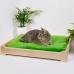 """Напольная лежанка для кошек и собак с двухцветным матрасом """"Сладкий сон"""""""