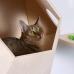 "Домик для кошки на стену ""Лунокот-1"""