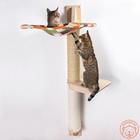 """Настенный комплекс для кошек """"Токио 2"""""""