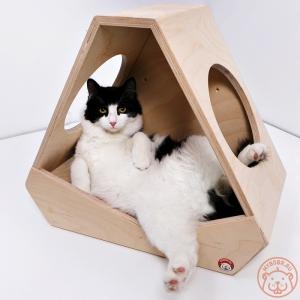 Кошачий домик «Приют астронавта»