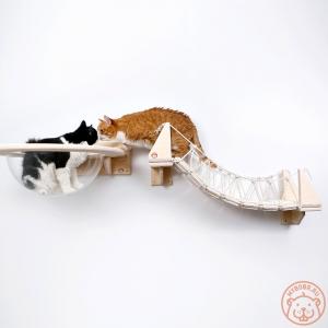 Комплекс настенный для кошек «Стратосфера»