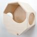 Большой и надежный настенный домик для кошки «Октай»