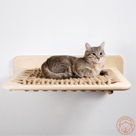 """Надежный, удобный настенный гамак для кошки """"Крепкий сон"""""""